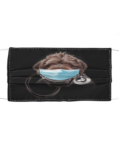 German Wirehaired Pointer-Face Mask-Doctor