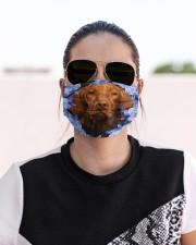Vizsla-Blue Mask Cloth face mask aos-face-mask-lifestyle-02