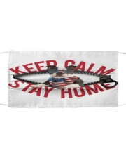 Boston Terrier-US-Keep Calm Cloth face mask front
