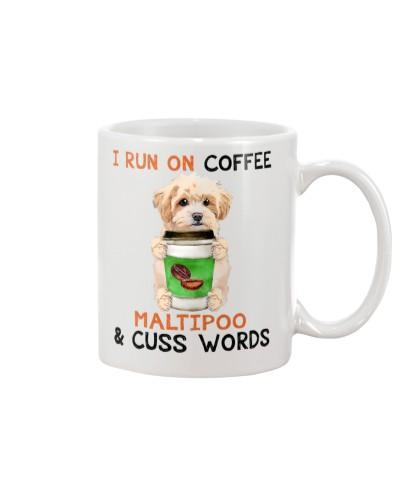Maltipoo-Coffee