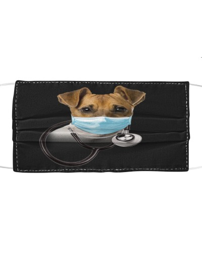 Jack Russell Terrier-Face Mask-Doctor