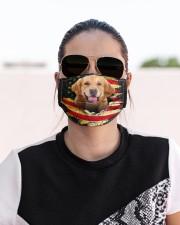 Golden Retriever-Mask USA  Cloth face mask aos-face-mask-lifestyle-02