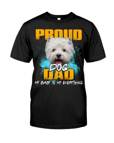 West Highland White Terrier-Proud Dog Dad