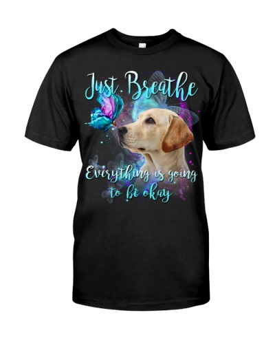 Labrador-Yellow-Just Breathe