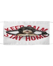 Tibetan Terrier-Mask-Stay Home Cloth face mask front