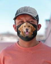 Golden Retriever-Hole Crack Cloth face mask aos-face-mask-lifestyle-06