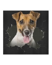 Jack Russell Terrier-Hole Crack Cloth face mask aos-face-mask-coverlet-lifestyle-front-02