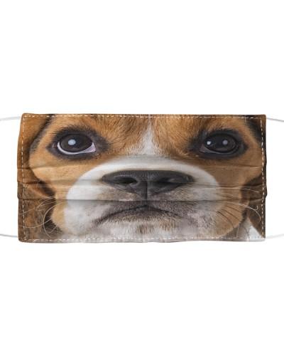 Beagle-Face Mask