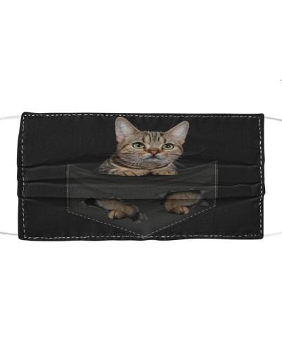 American Shorthair-02-Cat-Face Mask-Pocket