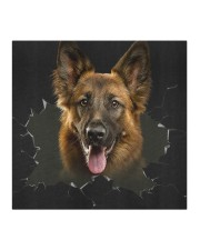 German Shepherd-Hole Crack Cloth face mask aos-face-mask-coverlet-lifestyle-front-02