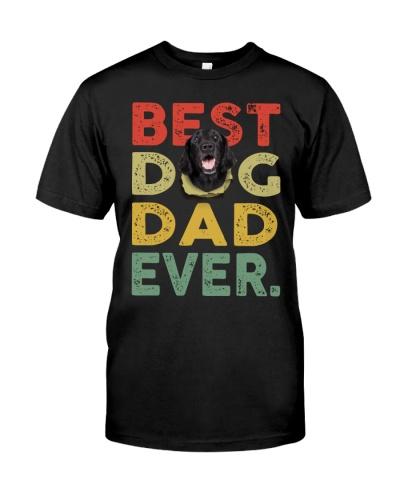 Flat Coated Retriever-Dog Dad Ever-02