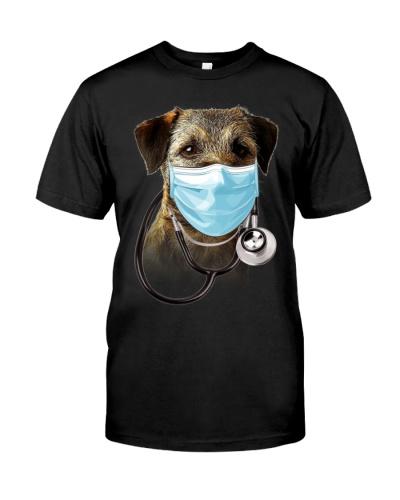 Border Terrier-Doctor Dog