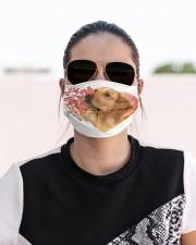 Golden Retriever-My Life-Mask Cloth face mask aos-face-mask-lifestyle-02