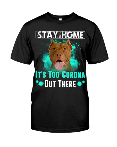 American Pit Bull Terrier-Stay Home