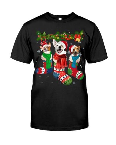Jack Russell Terrier-Christmas Sock