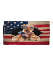 Airedale Terrier-US Mask Cloth face mask front