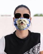 Maltese-Blue Mask Cloth face mask aos-face-mask-lifestyle-02