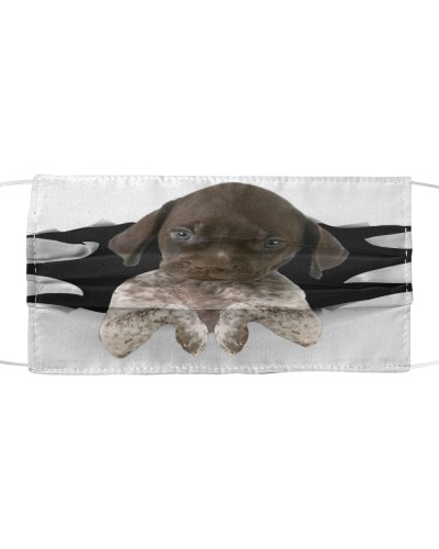German Shorthaired Pointer-Face Mask-Torn03