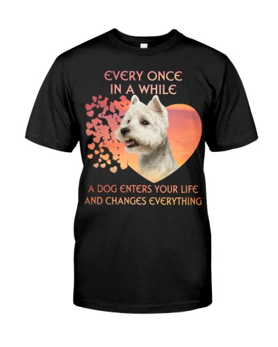 West Highland White Terrier-Enters Your Life