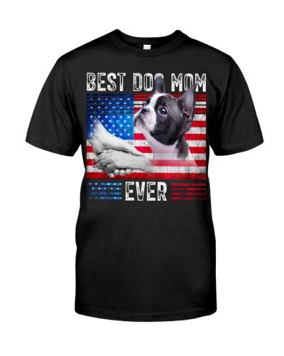 Boston Terrier-Dog Mom Ever