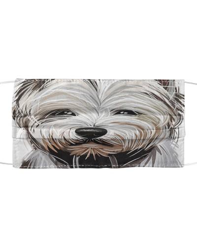 West Highland White Terrier-Art-Face Mask