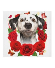 Dalmatian-Face Mask-Rose Cloth face mask aos-face-mask-coverlet-lifestyle-front-02