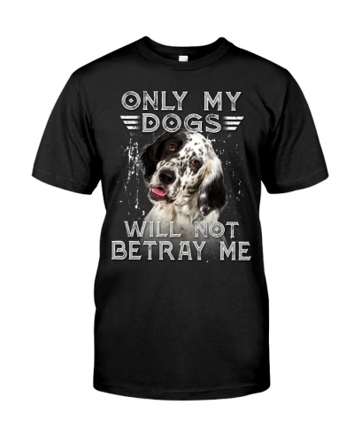 English Setter-Only My Dog