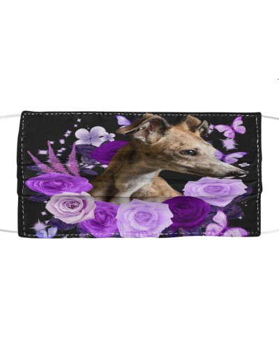 Greyhound-Face Mask-Purple