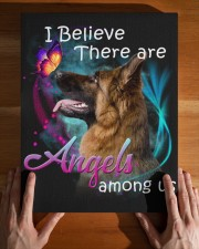 German Shepherd-Canvas Angels 11x14 Gallery Wrapped Canvas Prints aos-canvas-pgw-11x14-lifestyle-front-32