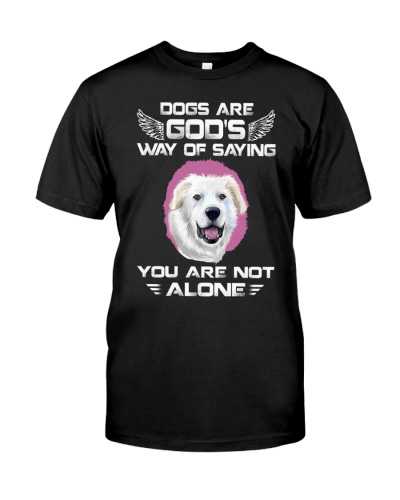Great Pyrenees-Not Alone