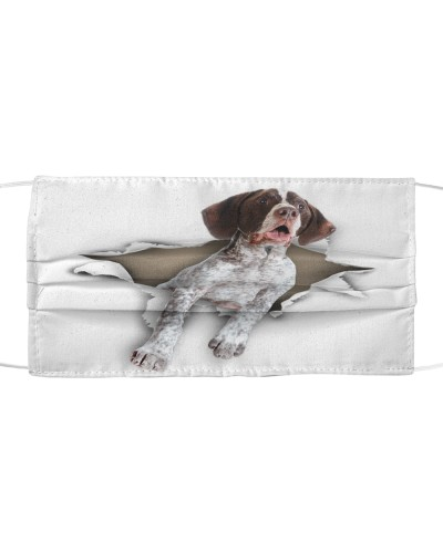 German Shorthaired Pointer-Face Mask-Torn02