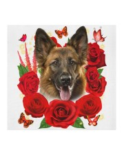 German Shepherd-Face Mask-Rose Cloth face mask aos-face-mask-coverlet-lifestyle-front-02