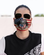 American Pit Bull Terrier-US Mask Cloth face mask aos-face-mask-lifestyle-02