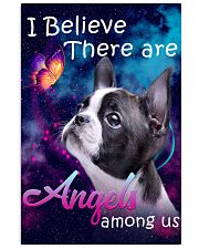 Boston Terrier-Angels-Poster 11x17 Poster front