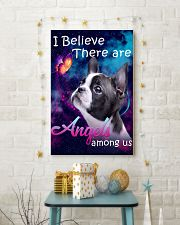 Boston Terrier-Angels-Poster 11x17 Poster lifestyle-holiday-poster-3
