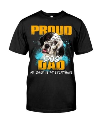 English Setter-Proud Dog Dad