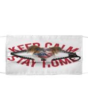 Papillon-US-Keep Calm Cloth face mask front