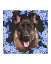 German Shepherd-02-Blue Mask Cloth face mask aos-face-mask-coverlet-lifestyle-front-02