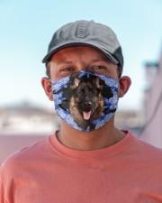 German Shepherd-02-Blue Mask Cloth face mask aos-face-mask-lifestyle-06
