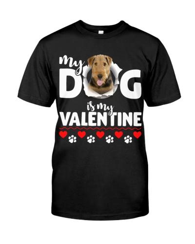 Airedale Terrier-My Valentine
