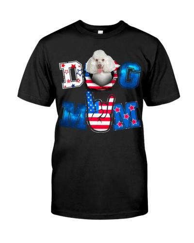 Poodle-White-USA Mom