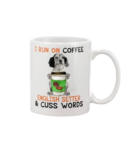 English Setter-Coffee