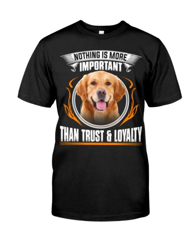 Golden Retriever-Trust And Loyalty