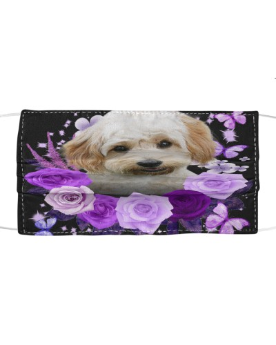 Cavachon-Face Mask-Purple