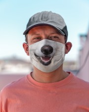 Berger Blanc Suisse-Mask Mouth Cloth face mask aos-face-mask-lifestyle-06