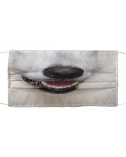 Berger Blanc Suisse-Mask Mouth Cloth face mask front