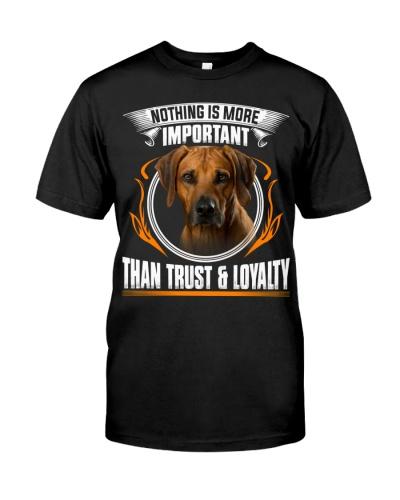 Rhodesian Ridgeback-Trust And Loyalty