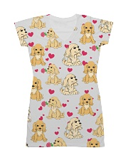 English Cocker Spaniel - Heart All-over Dress front