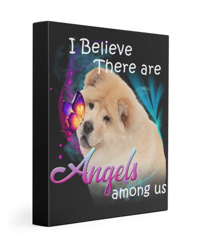 Chow Chow-Canvas Angels