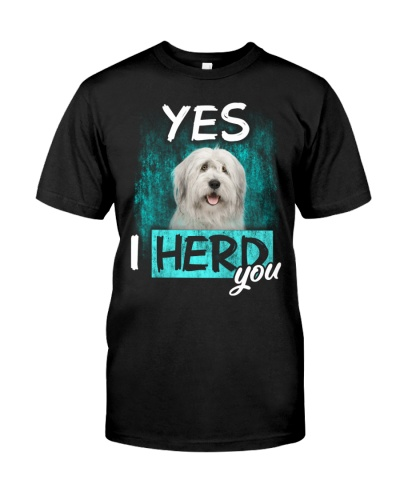 Old English Sheepdog-I Herd You